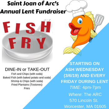 St Joan of Arc Fish Fry