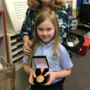 1st Grader Tops State-wide Handwriting Contest