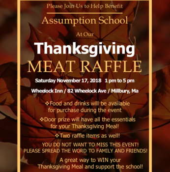 Benefit Meat Raffle Scheduled