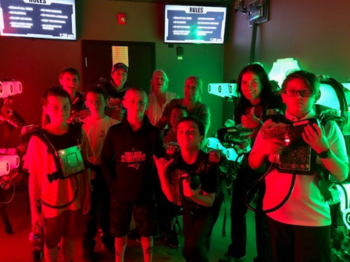 Mother/Son Bowl & Laser Tag
