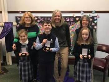 3 State Winners In Handwriting Contest!