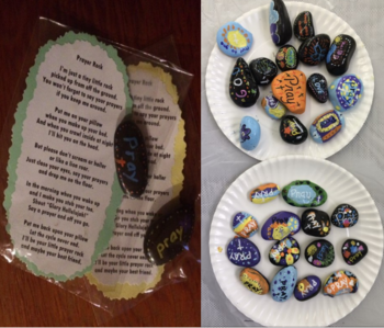 The Art Room- 3rd Quarter News: Lenten Prayer Rocks