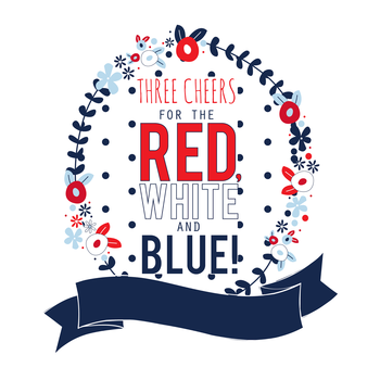 Red, White & Blue Out-of-Uniform Day!