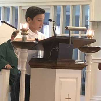 Student Presents At St. Mark's, Sutton