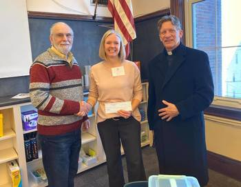 Donation by Knights of Columbus