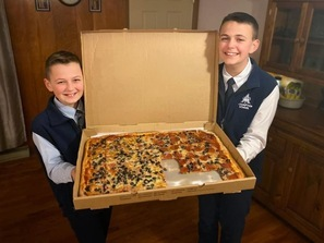 Thank you - A&D Pizza Night!