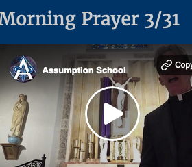 Morning Prayer with Fr. Dan