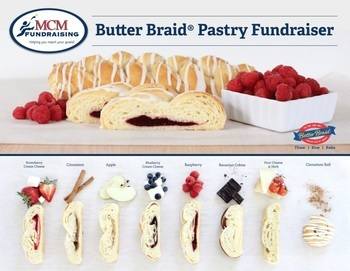 Butter Braids & Cake Roll Fundraiser