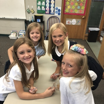 In third grade, our class is very excited about science!