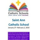 What is Catholic Schools Week?