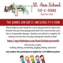 SAS Fit-A-Thon - Click HERE to Pledge!