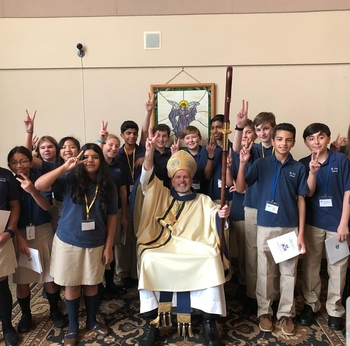 2018 Diocese of Trenton Catholic School Mass