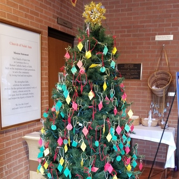 Rosary Altar Society Giving Tree