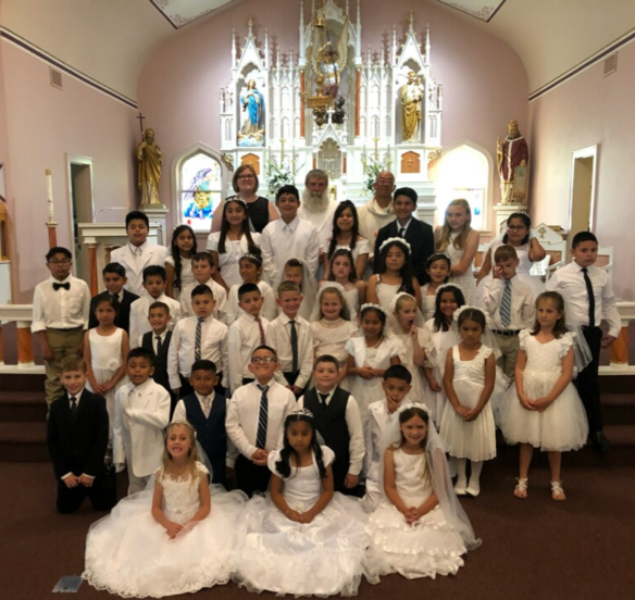 2018-2019 First Holy Communion Class
