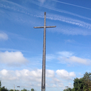 Miracle on St. George's Hill? - Did the big cross move?
