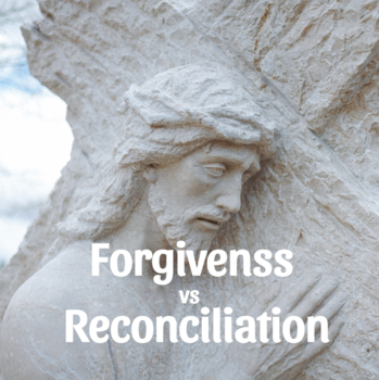 The Relationship of Forgiveness and Mercy to Justice and Reconciliation