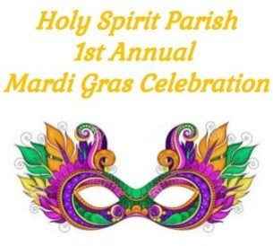 February 23, 2020  <div>   Holy Spirit Mardi Gras Plus One   <div></div> </div>