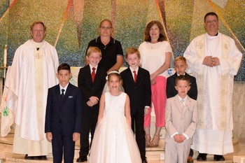 Congratulations to our First Holy Communion children