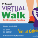 NorthStar Family Service Virtual Walk for Homeless Families