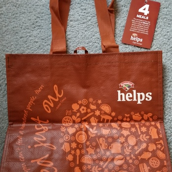 Meals for those in need, when you buy a Bag!