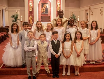 First Communion Reunion Mass