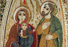The Feast of the Holy Family, Jesus, Mary and Joseph
