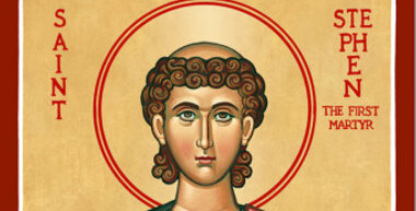 The Feast of Saint Stephen, the First Martyr