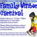 Family Winter Carnival! February 2
