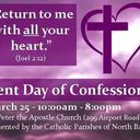 Lent Day of Confessions - March 25