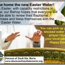 This Easter, take the New Easter Water Home!