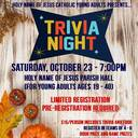 Young Adults TRIVIA NIGHT!