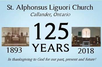 St. Alphonsus 125th Anniversary Upcoming Events!