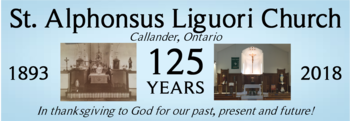 St. Alphonsus 125th Anniversary!