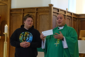 Young parishioner departs for year with NET Ministries