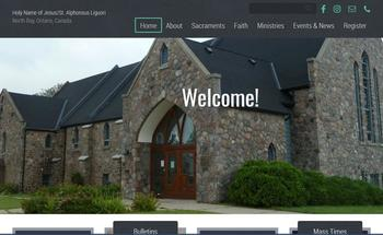 Welcome to our new Parish Website!
