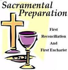 Sacraments of First Reconciliation & First Communion - Dates & Registration now available!