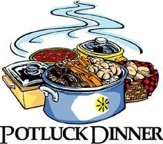 4 O'Clock Potluck Dinner!