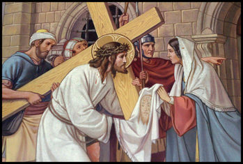 Stations of the Cross during Lent