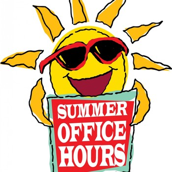 Summer Parish Office Hours
