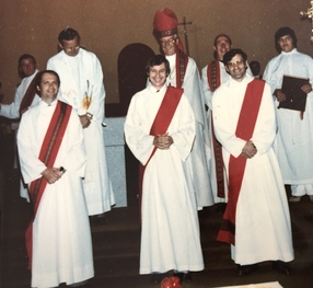 Congratulations! Deacon Allan Charette's 40th Anniversary of Ordination!