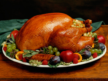 'TAKE-OUT' TURKEY DINNER!