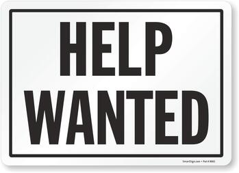 Help Wanted!  Can you give some of your time?
