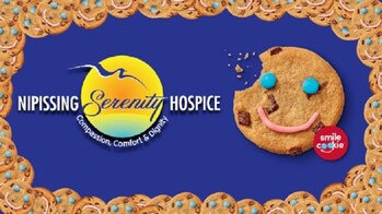 'Smile Cookie' Campaign to support Nipissing Serenity Hospice!