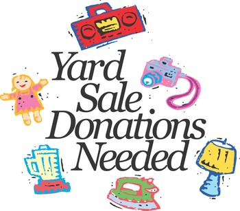 COLLECTING DONATIONS FOR GARAGE SALE
