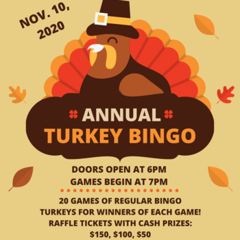 Annual Turkey Bingo