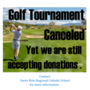 Golf Tournament Cancelled