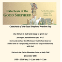 Catechesis of the Good Shepard Preview Day