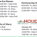 Christmas Day Mass at Holy Child