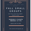 Fall Small Groups