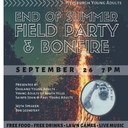End of Summer Field Party & Bonfire